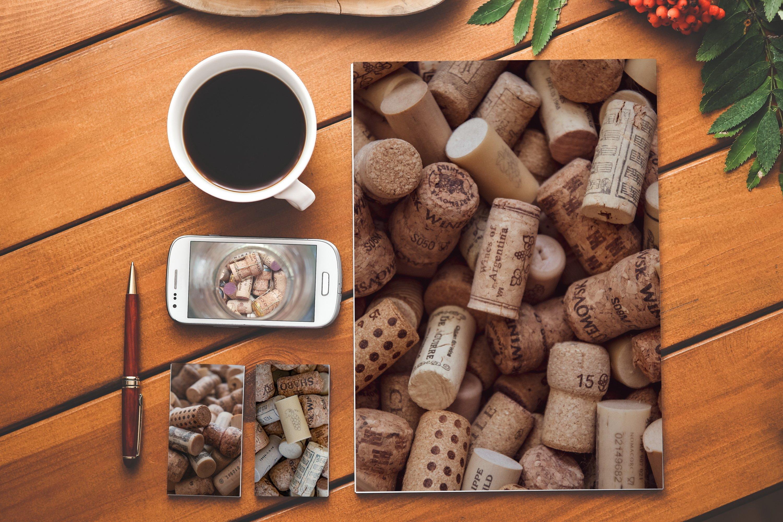 Set of 11 Wine Cork photo texture backgrounds example image 14