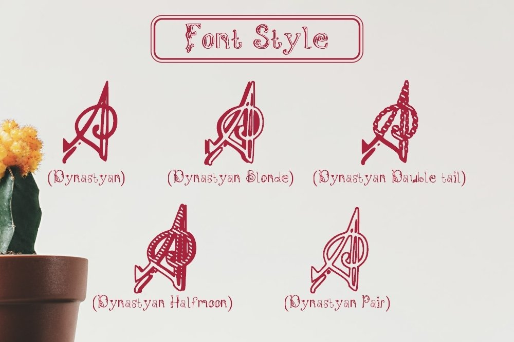 Dynastyan - 5 Font styles and 150 Swashes example image 4