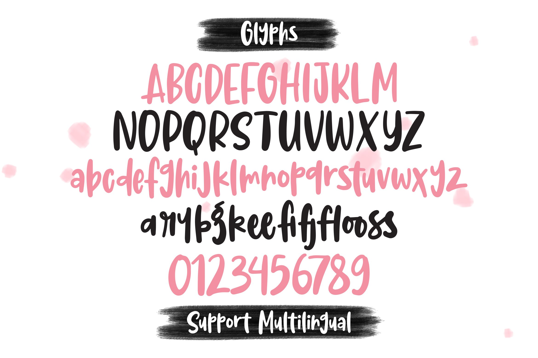 Melinda - Handlettered Font example image 2