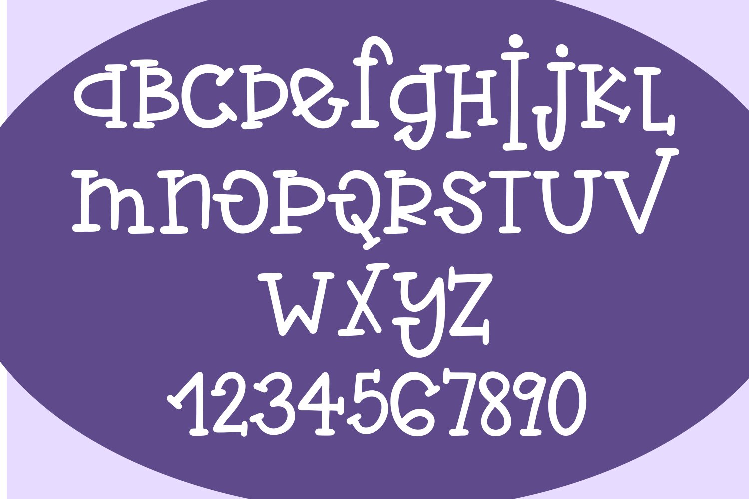Violet Flamingo - A Quirky Hand-Written Font example image 2