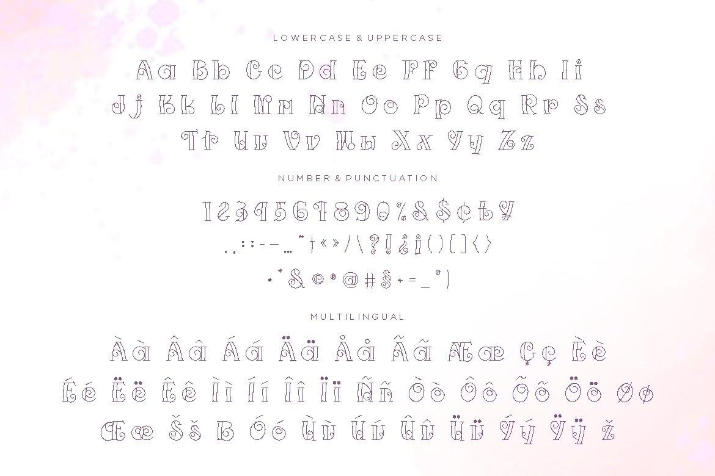 Tawfinal Display Font example image 3