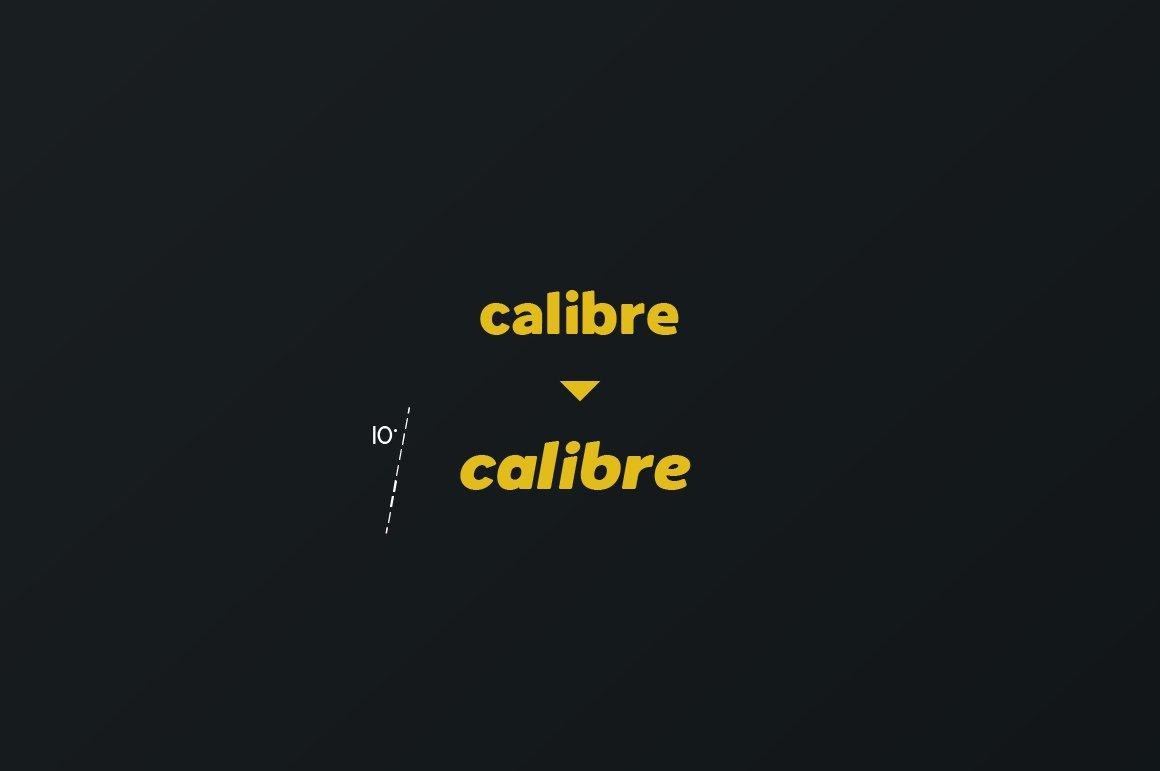 Spotlight - Sans Serif Regular with optional Stencils example image 5