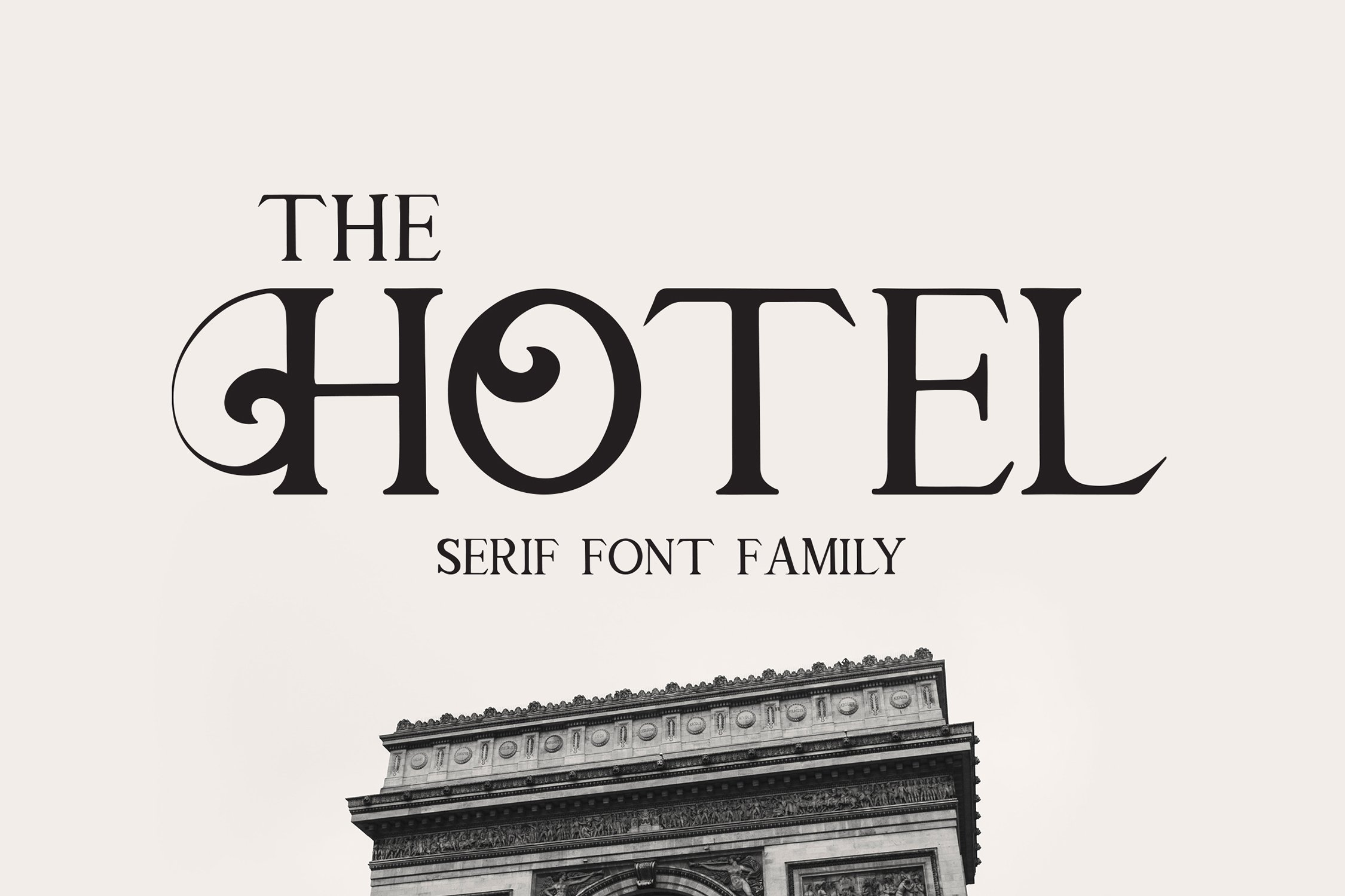 The Hotel - Luxury Font example image 2