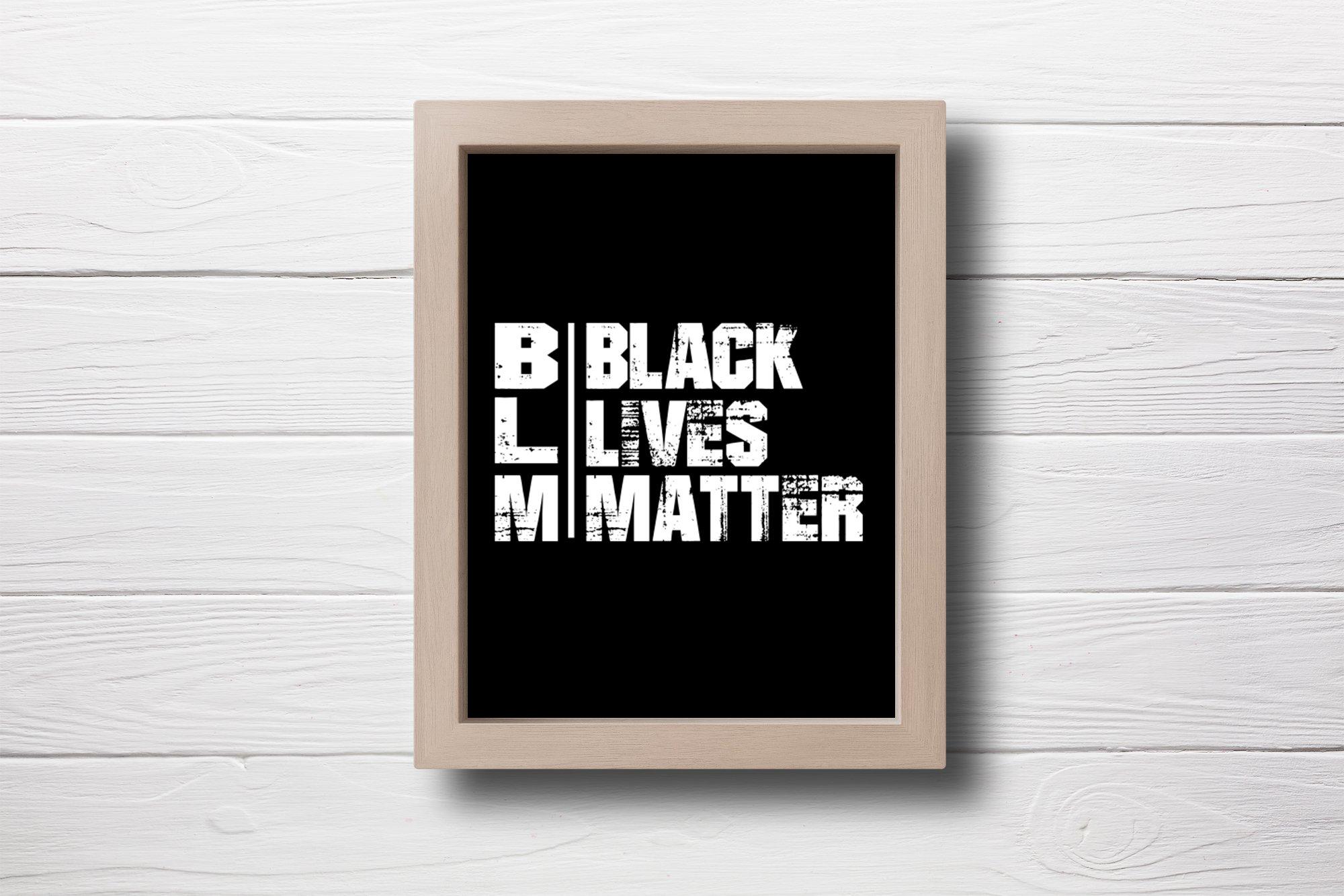 Black Lives Matter SVG, BLM SVG Cut File example image 2
