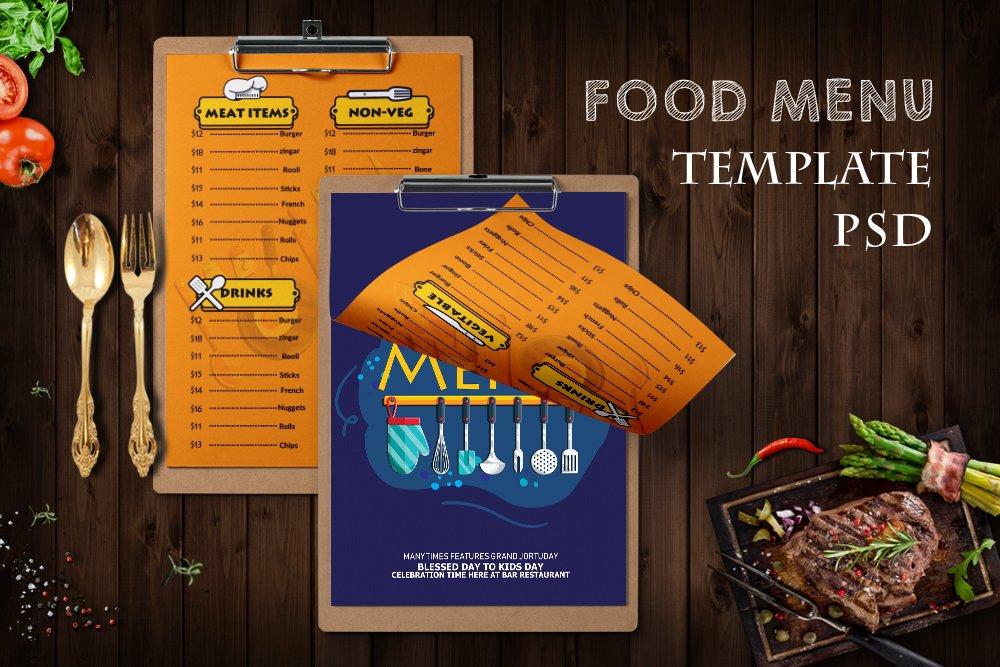 Restaurant Food Menu example image 1