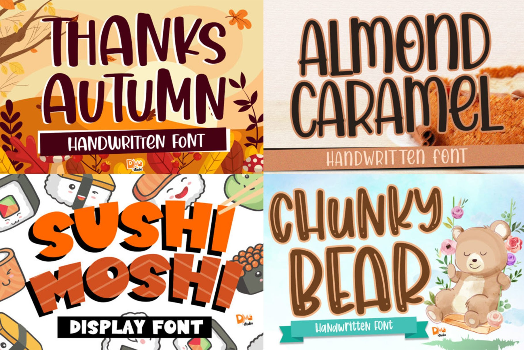 BIG BUNDLE - Seasonal Crafting Font Collection!! example image 10