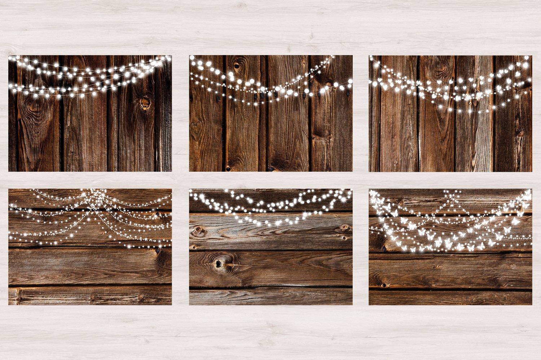 Wood & Lights - Rustic Wedding example image 2