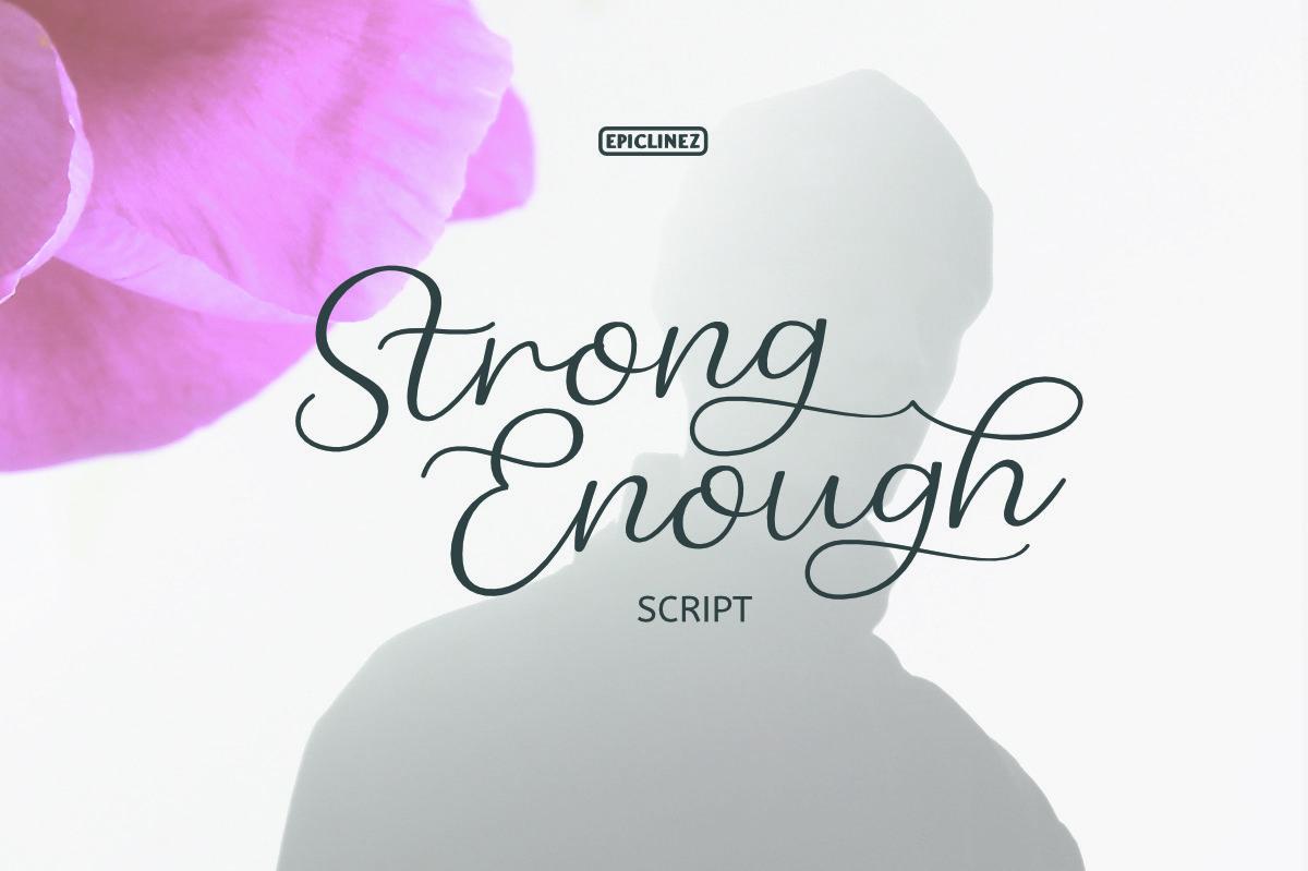 Strong Enough Script example image 1