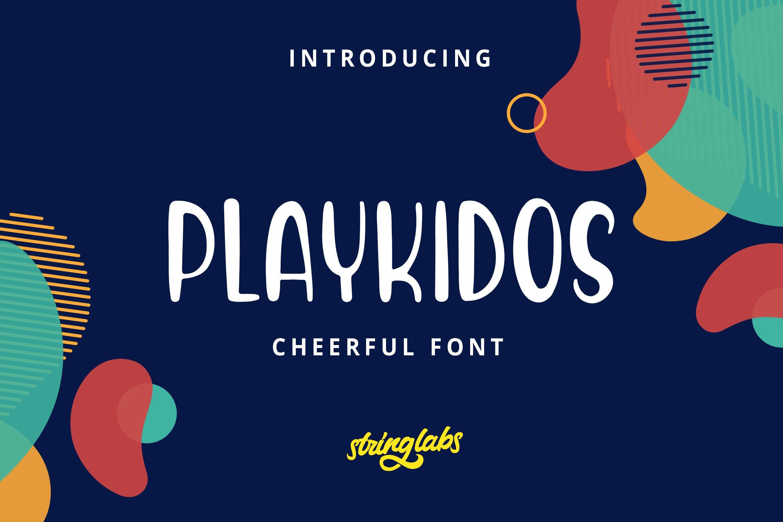 Playkidos - Playful Font example image 1