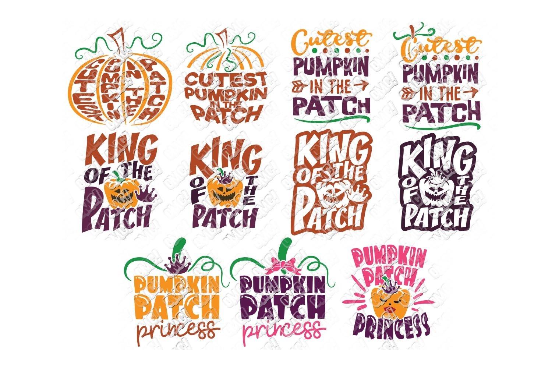 Pumpkin Patch Svg Bundle In Svg Dxf Png Eps Jpeg 137341 Cut Files Design Bundles