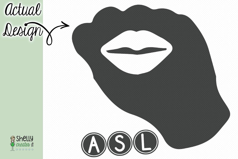 ASL Kiss Fist example image 2