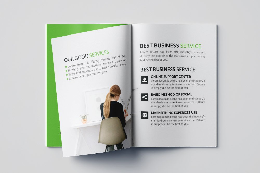 Business Agency Bifold Brochure 16 Pages example image 8