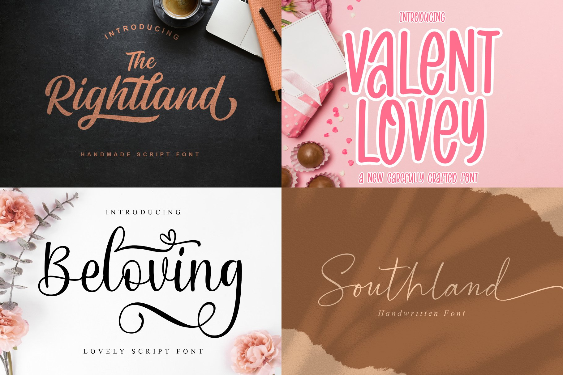 BIG BUNDLE - BEST FONT COLLECTIONS example image 11