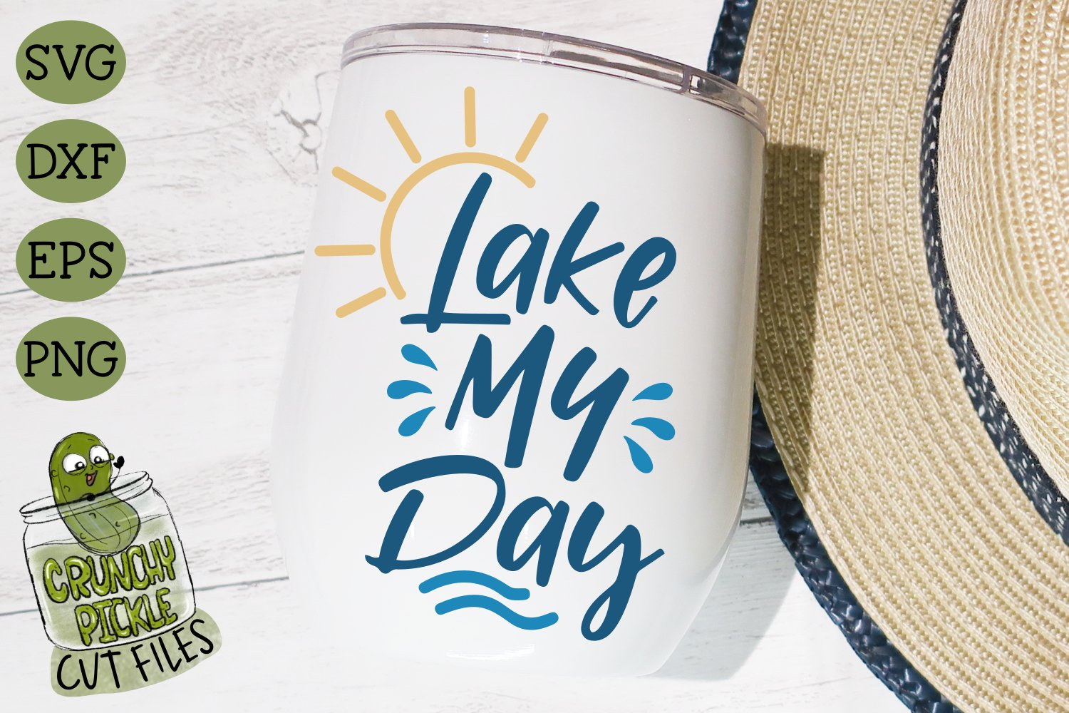 Lake My Day SVG Cut File example image 1