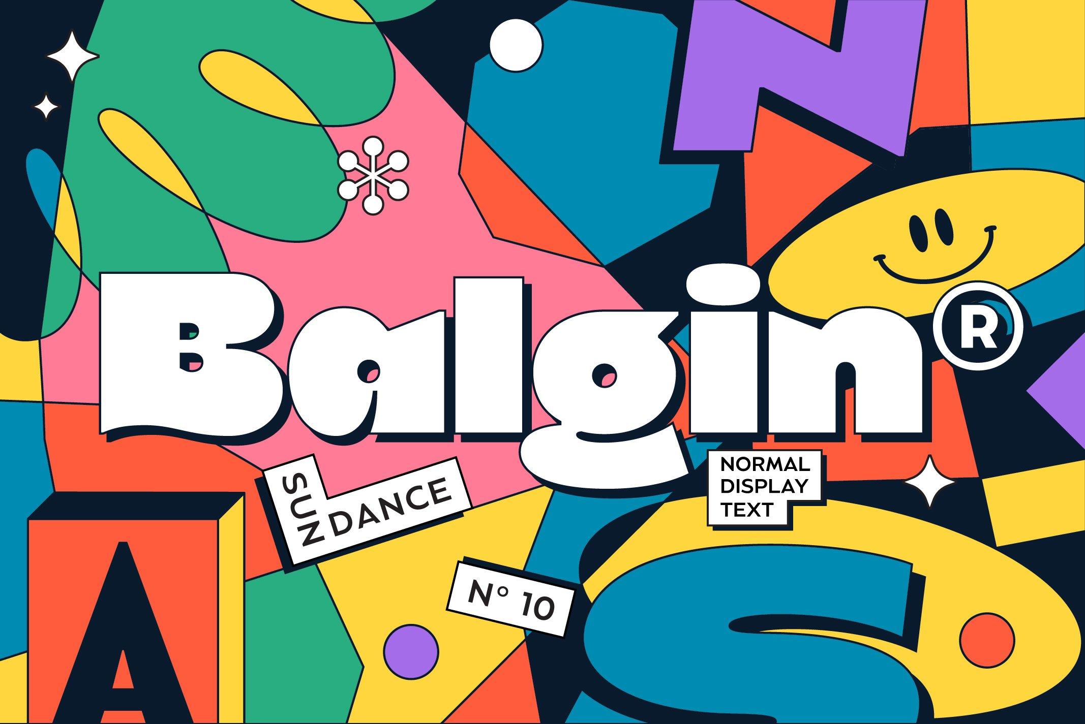 Balgin Font Family example image 1