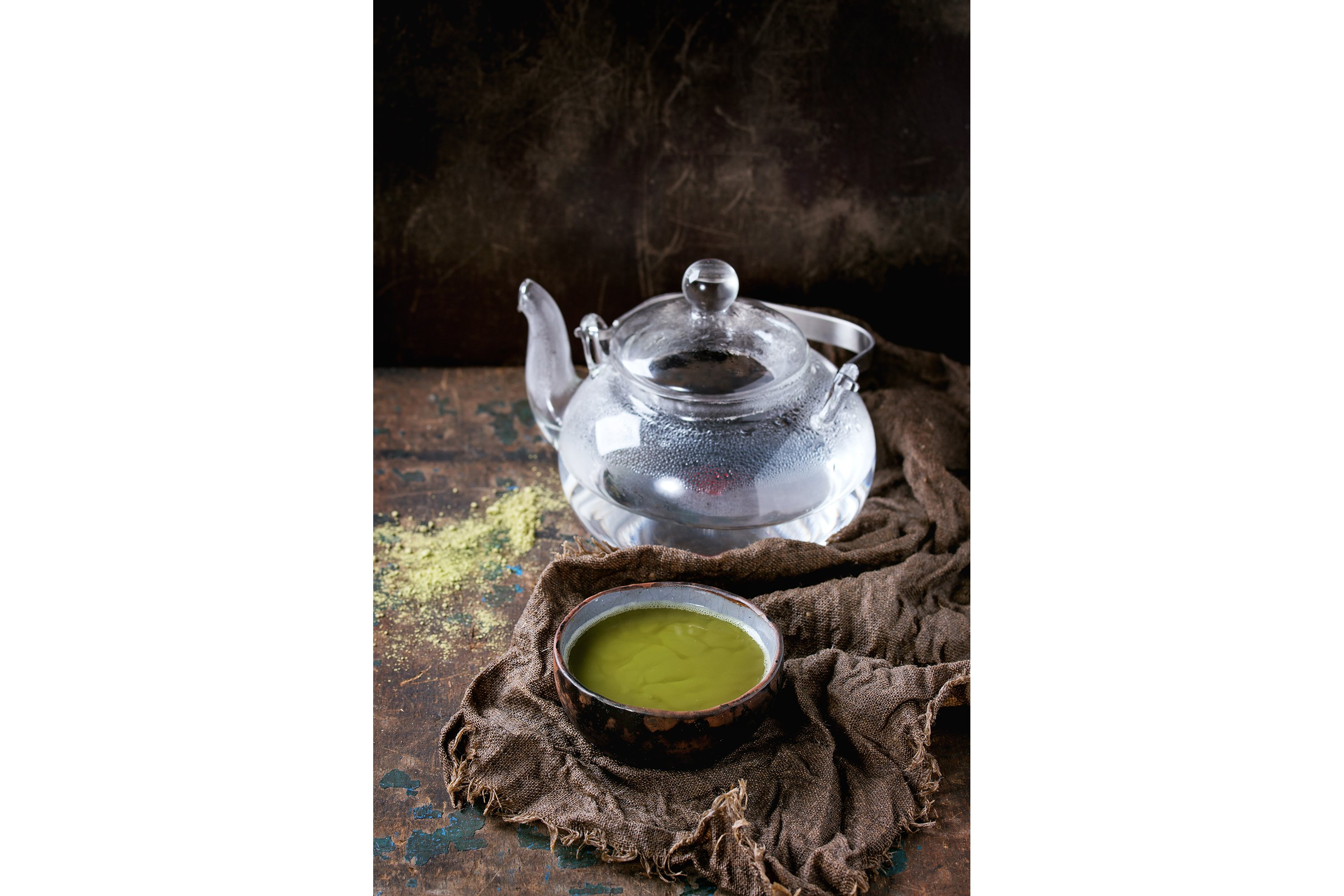 Cup of matcha tea example image 1