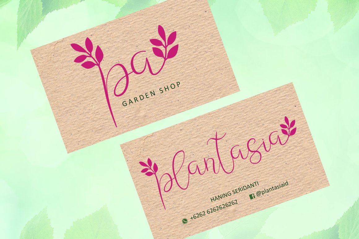 Leafing - Modern Script Font with 3 alternates example image 4