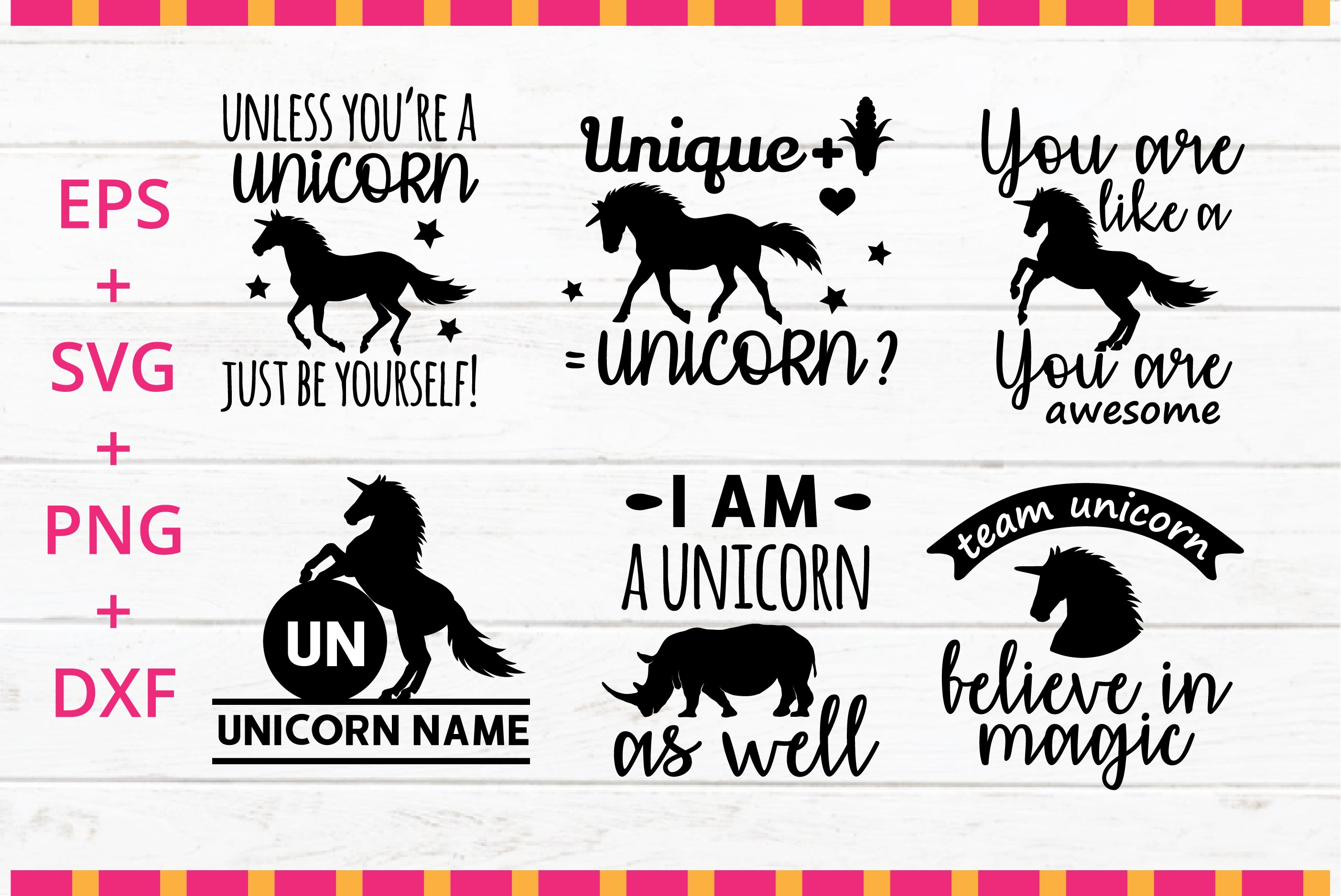 Unicorn Funny Quotes Svg Crafter Cutting File 190618 Svgs Design Bundles