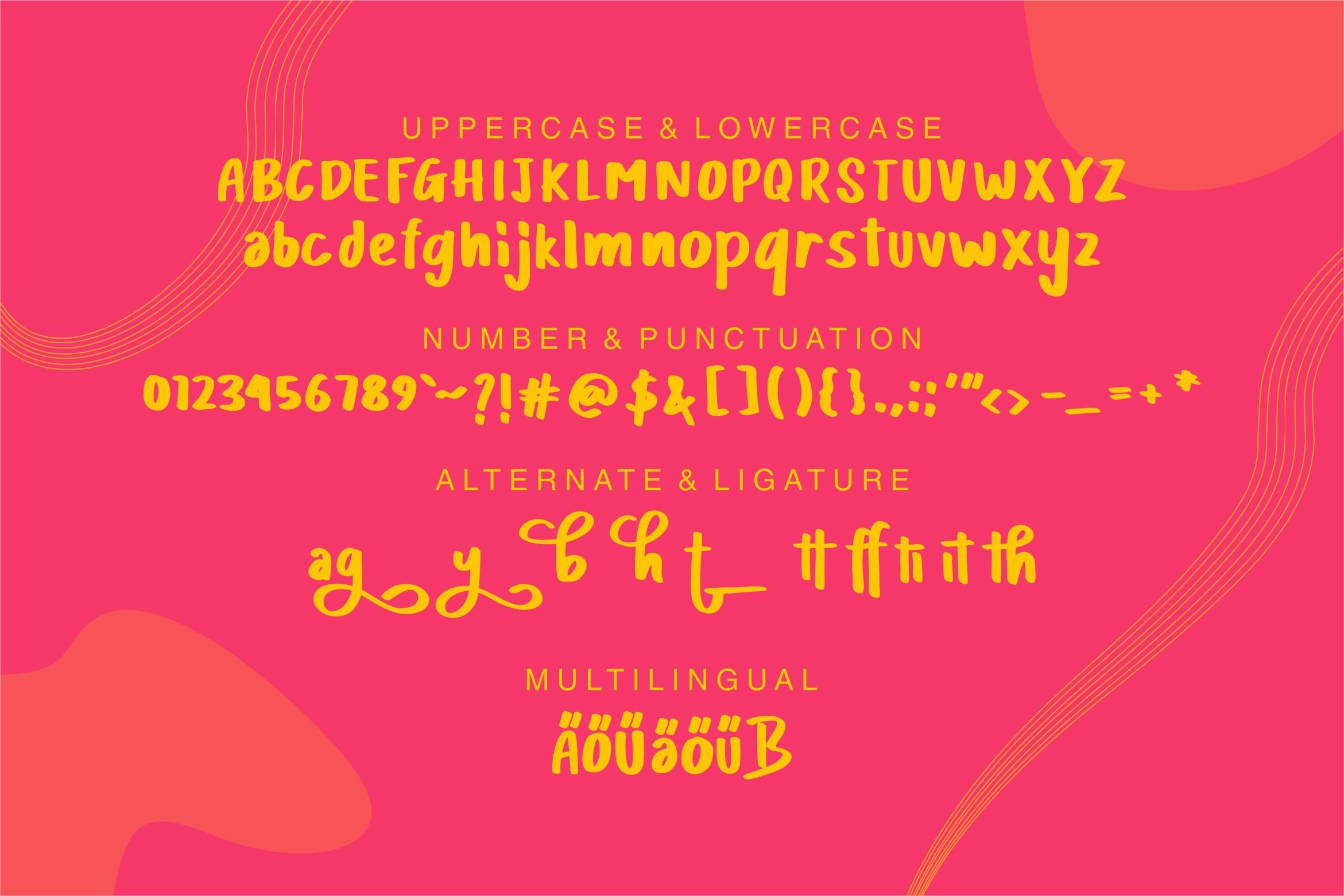 Cliff Athar - Modern Cute Font example image 4