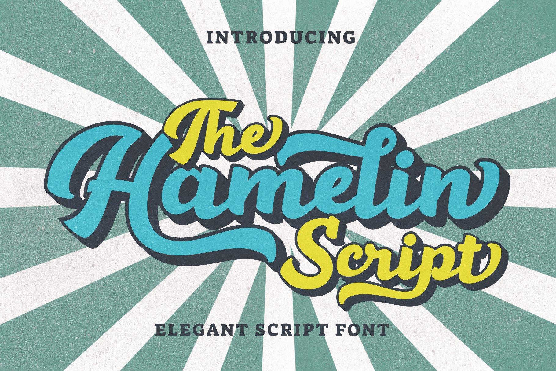 Hamelin Script Font example image 1