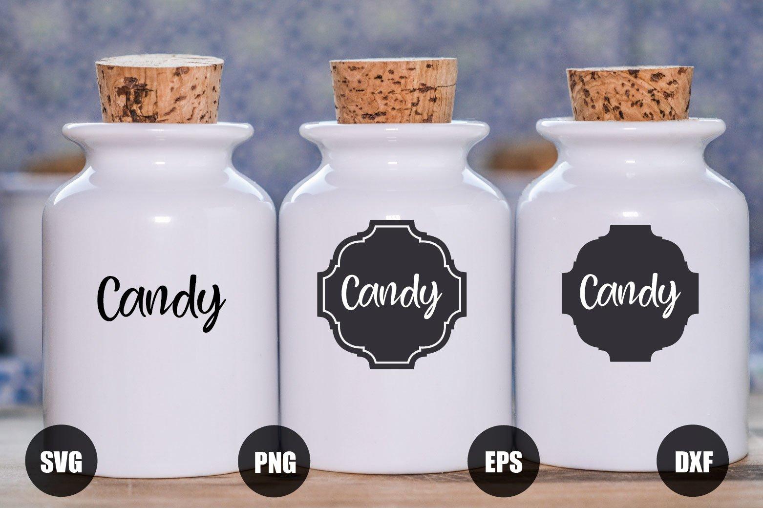 47 Kitchen Labels Bundle SVG example image 2
