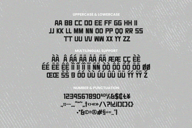 San Liard Font example image 5