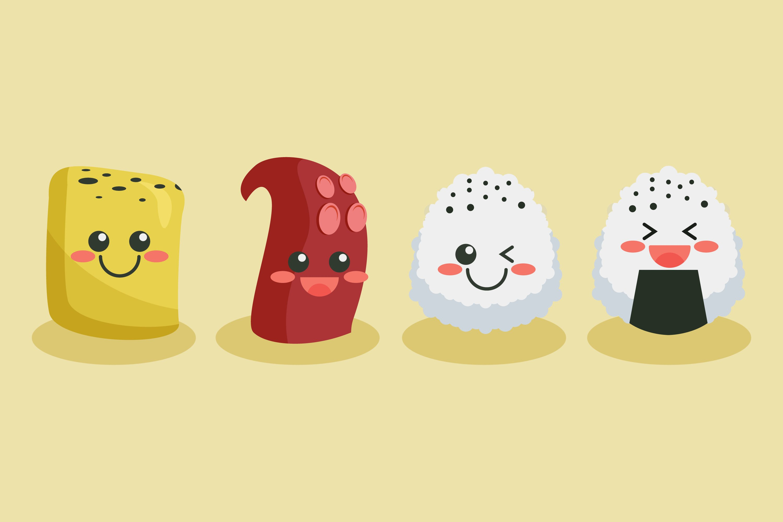 Sushi Illustrations example image 1