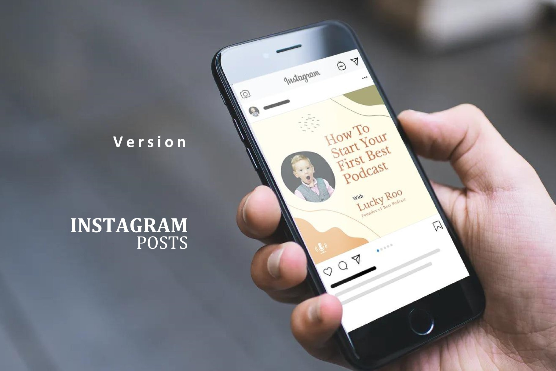 Podcast Instagram Stories and Post - Creativity Podcaster example image 3