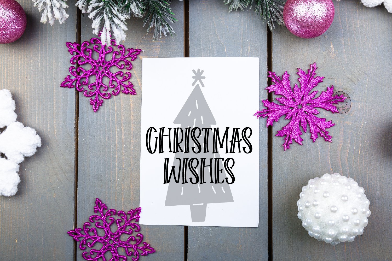 Christmas Tree Farm - A Dingbat Font example image 3