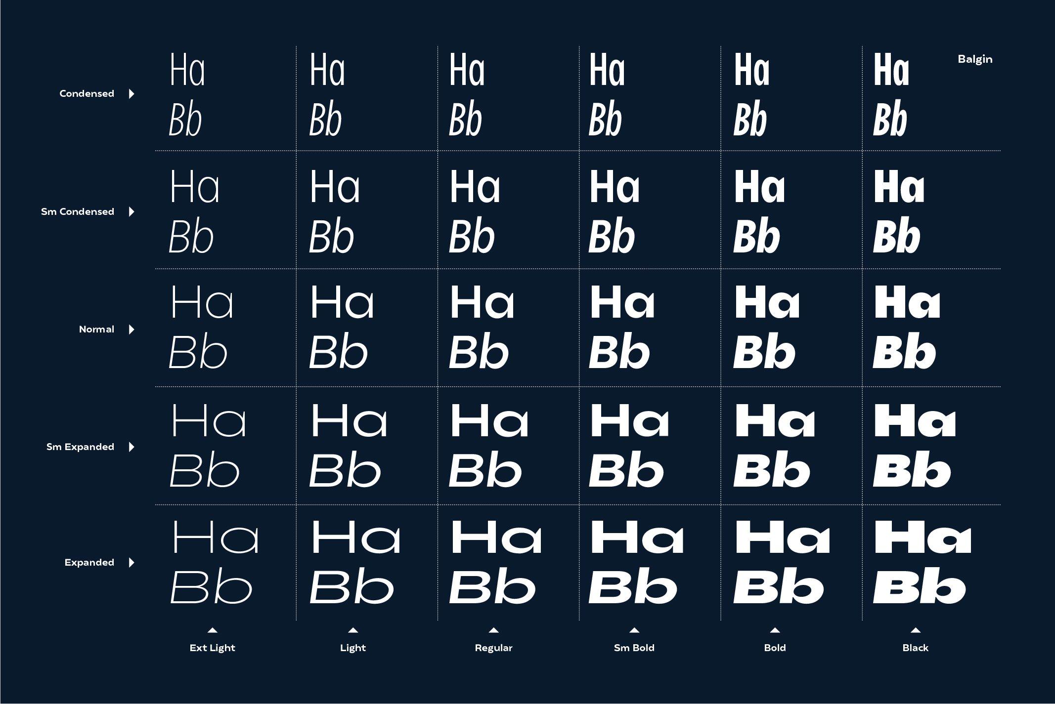 Balgin Font Family example image 8