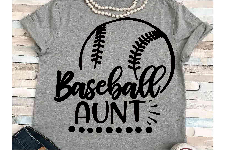 Baseball Svg Dxf Jpeg Silhouette Cameo Cricut Aunt Svg 227610 Cut Files Design Bundles