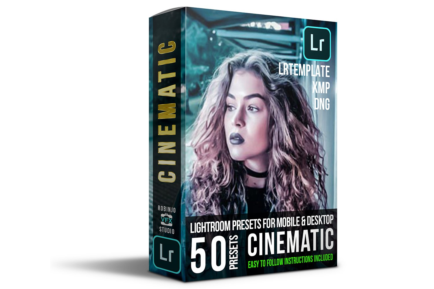 Cinematic 50 Lightroom Presets example image 2