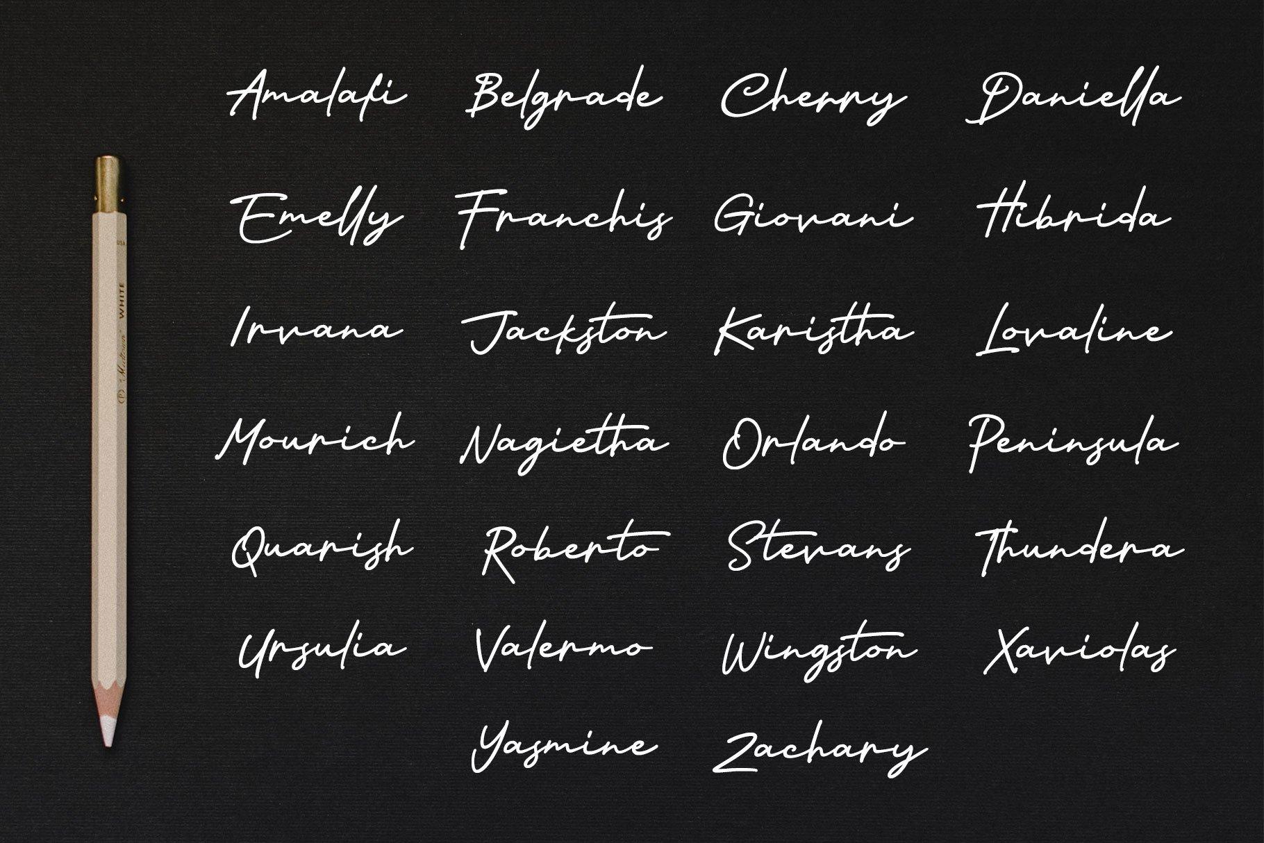Nagietha - Handwritten Font example image 8