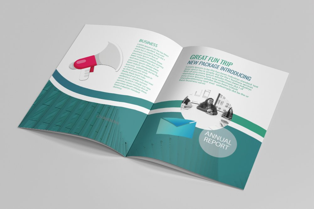 Business Catalogue Brochure 16 Pages example image 9
