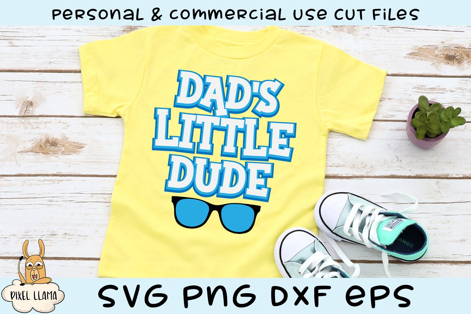 Dad's Little Dude SVG example image 1