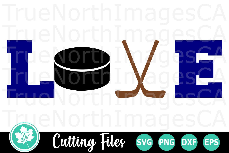 Love Hockey A Sports Svg Cut File 316522 Cut Files Design Bundles