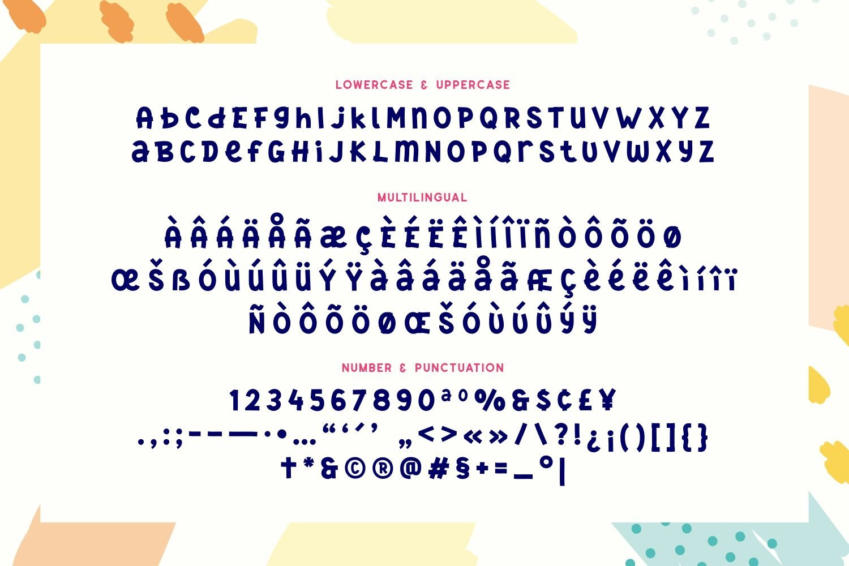 Sugar Babies - Playful Sans Serif Display example image 5