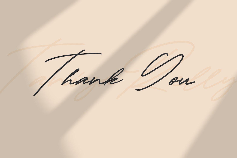 Taniya Relly - Luxury Signature Font example image 3