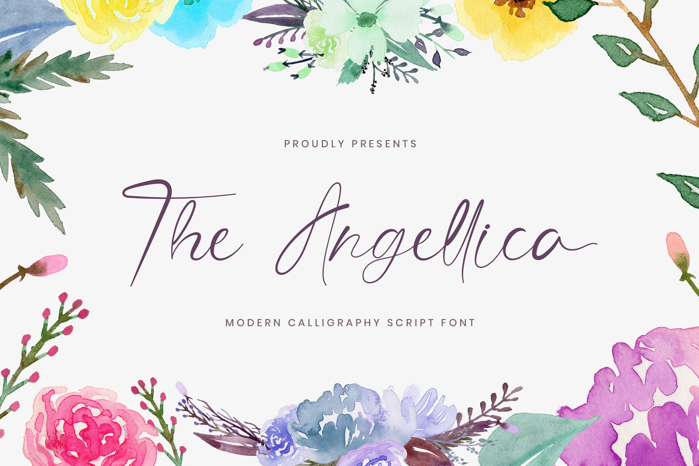 The Angellica - Modern Calligraphy Font example image 1