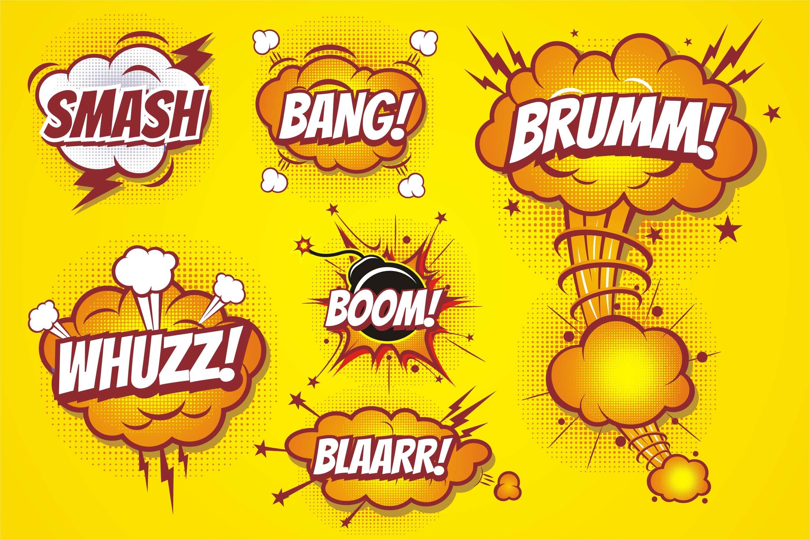 Comic Boom effect example image 1