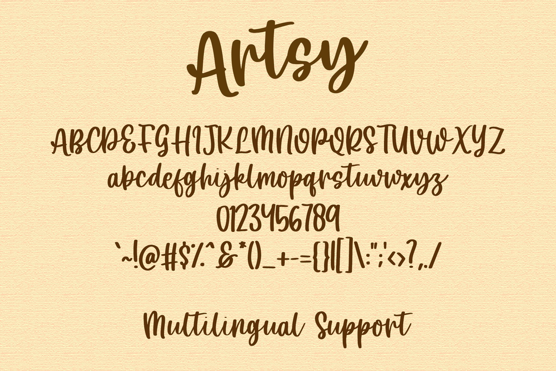 Artsy - Handwritten Font example image 10