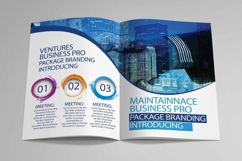 Business Agency Bifold Brochure 16 Pages example image 7
