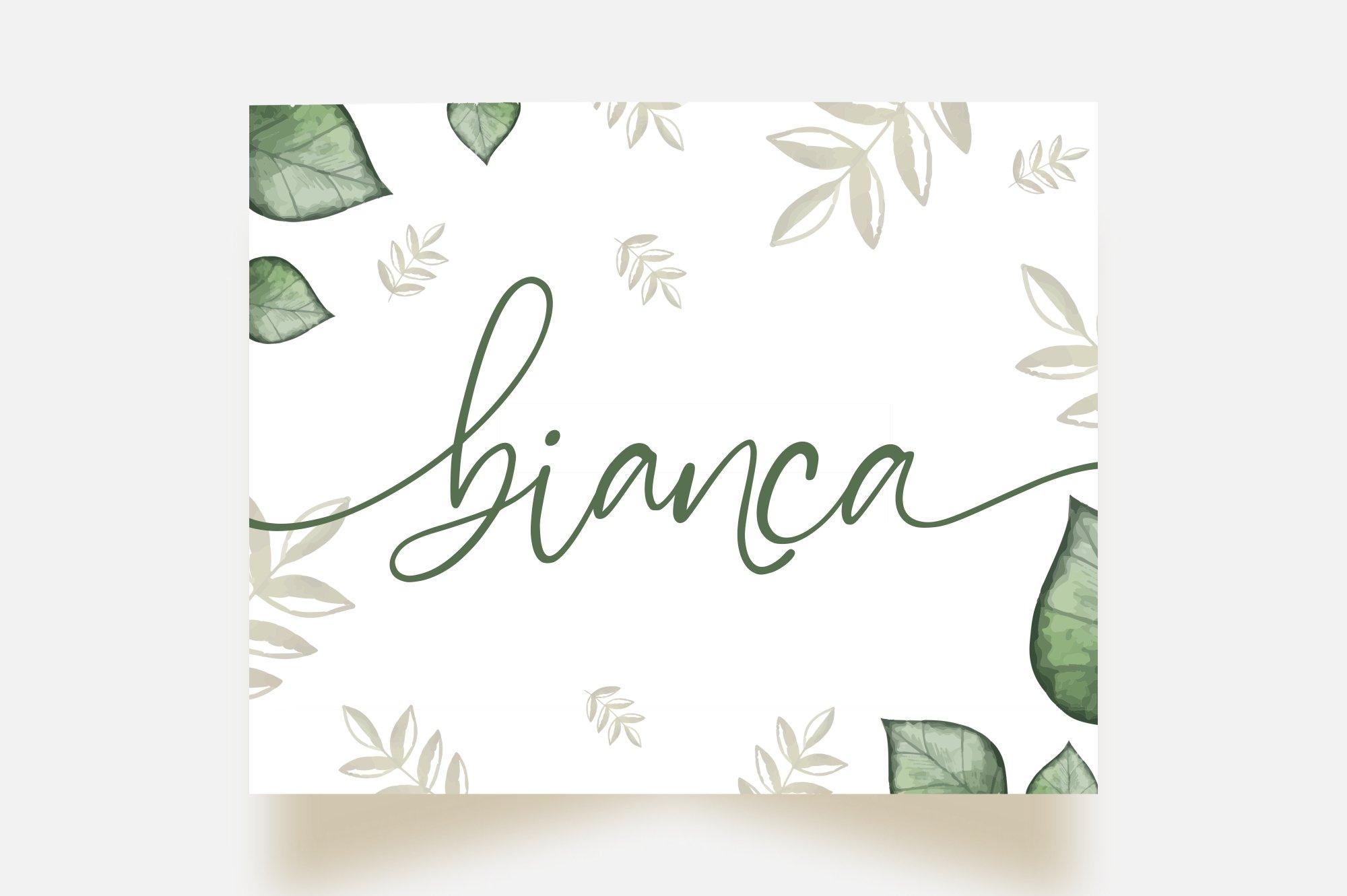 Marchellia - Modern Handwritten Font example image 3