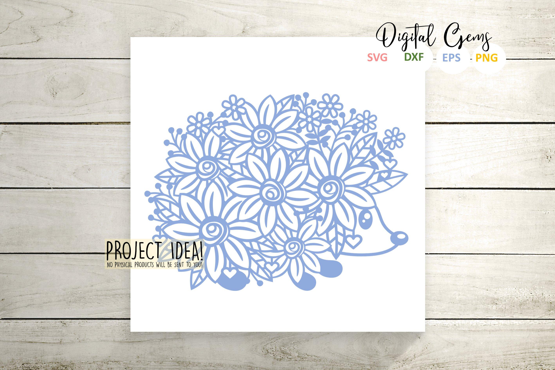 Hedgehog Paper Cut Design Svg Dxf Eps Png Files 243065 Svgs Design Bundles