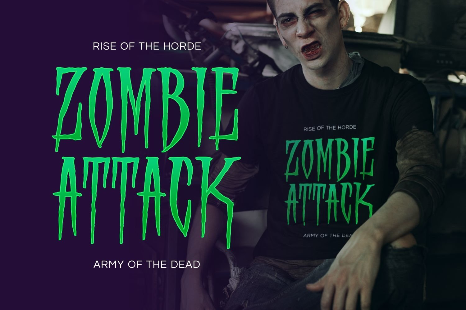 Scory - Spooky Display Font example image 4