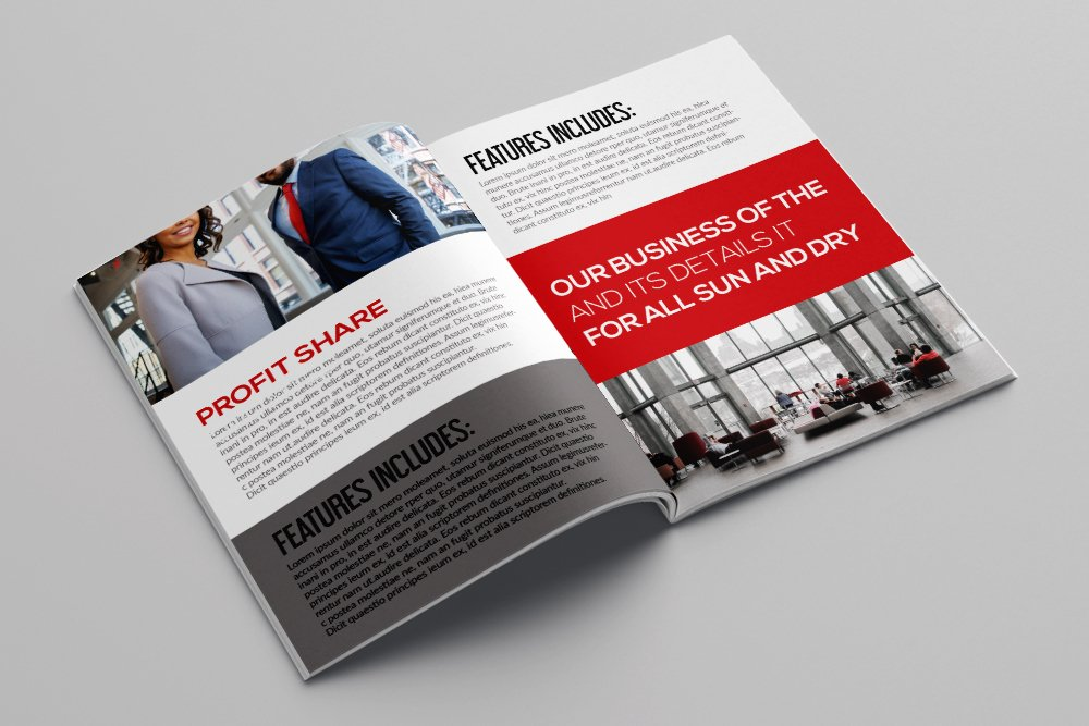 Business Corporate Bifold Brochure 16 Pages example image 3