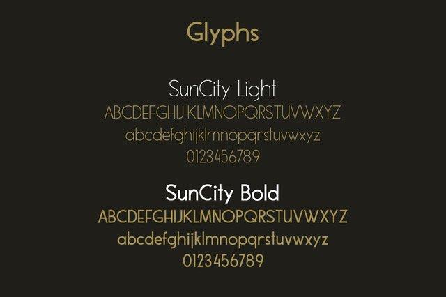 Sun City - Font Duo example image 2