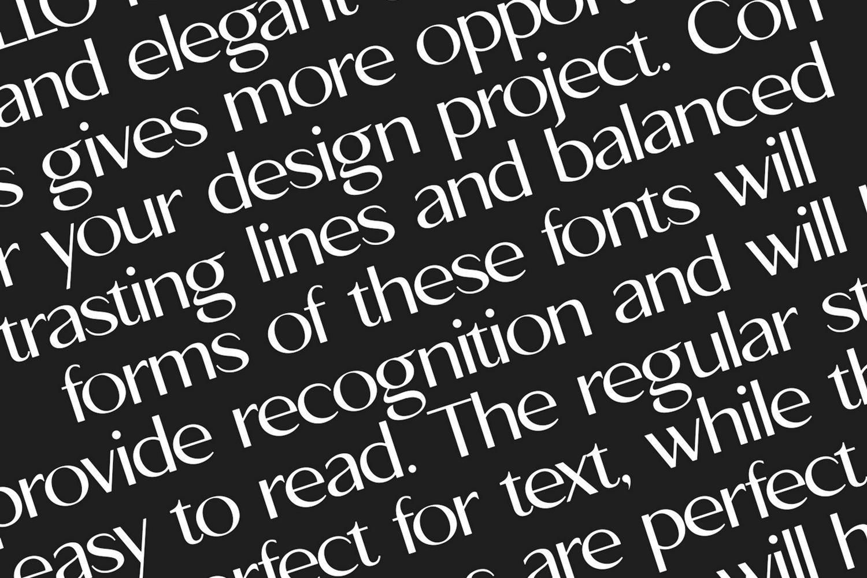 Apollo Sans Serif Font example image 3