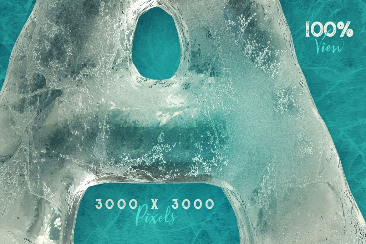 Ice Ice Baby - 3D Lettering example image 2