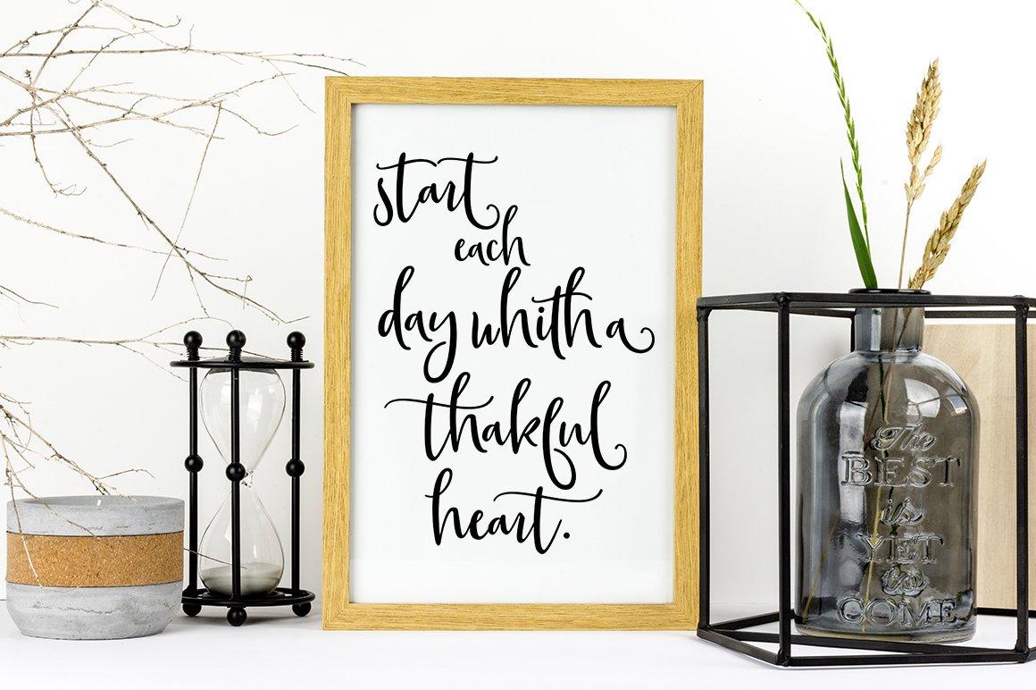 Gorgeous Script Font Trio example image 3